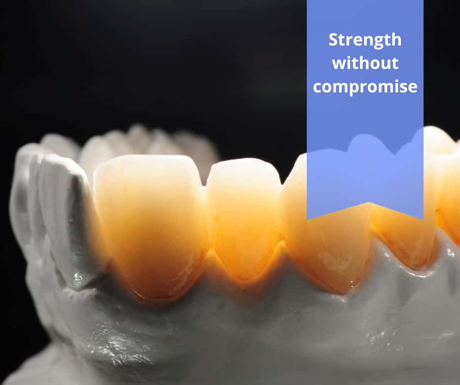 The new game-changing zirconia image